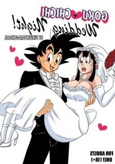 Goku + Chichi Wedding Night (Dragon Ball)